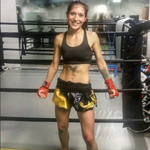 Yasmin Nazary - Muay Thai Fighter